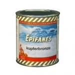 Farba przeciwporostowa na drewno i laminat na wody słodkie Kupferbronze 0,75L