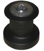 Kabestan aluminiowy z ruchem zwrotnym (K4)