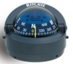 Kompas Ritchie Explorer S-53G  (szary/niebieska tarcza)